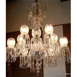 12 Arm Lotus Shape Hanging Chandelier