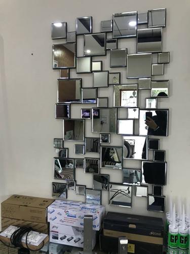 designer mirror frame