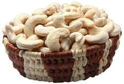white wholes cashew kernels