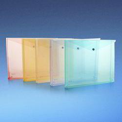 Plain Dataking Expandable Clear Bag