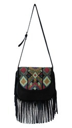 Embellishment Cross Body Bag