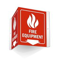 Fire Equipment Sign