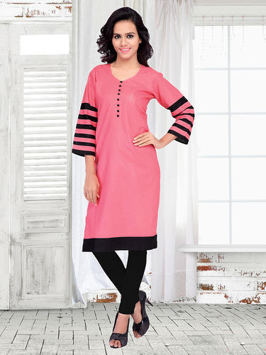 Fancy Printed Cotton Kurti