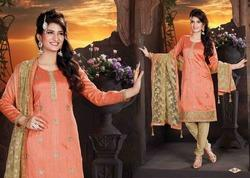 Designer Casual Party Wear Churidaar Suit