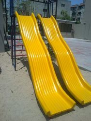 FRP Double Wave Slide