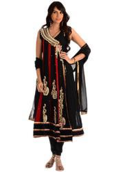 Georgette Embroidery Suit Dupatta