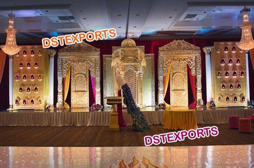 New Haveli Wedding Stage Set