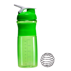 Green Heavy Blender Bottles