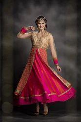 Fancy Indo Western Long Dress