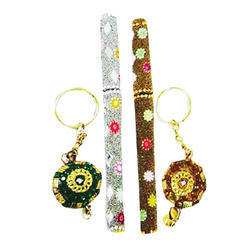 Handicraft Keyrings and Pens