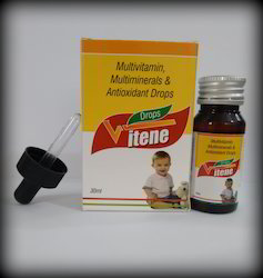 Multi- Vitamin Multi-Mineral & Anti-oxidant Drops