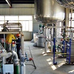 edible oil bleaching section plant