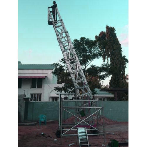 Tiltable Aluminum Ladder
