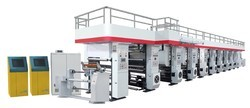Fully Automatic Rotogravure Printing Machine