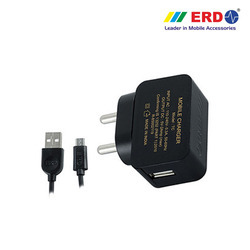 TC 27 Micro USB Black Charger