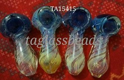 Double Blown inside out Side Glass Pipe