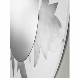 Particolare My Life Bianco Argento Bathroom Mirror