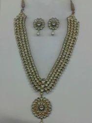 Gold Kundan Necklace
