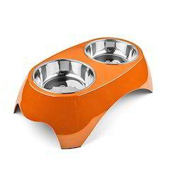 Adjustable Double Dinner Bowl Set