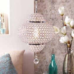 Raymond Chrome Finish Crystal Pendant Lamp