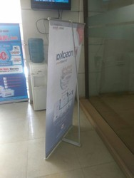 L Banner Stand Without Print