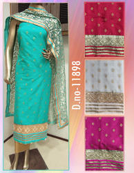 Designer Stylish Unstitched Suit