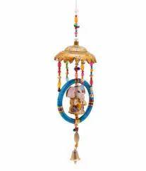 Rajasthani Decorative Items Ganesha With Umbrella Ring