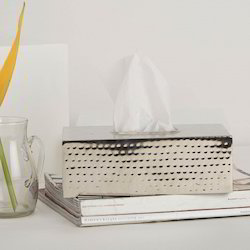 Tissue Box (Hammered)