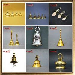 Brass Bells - Ship Bell, Prayer Bell, Bike Bell - Designer