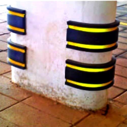 Rubber Pillar Guards