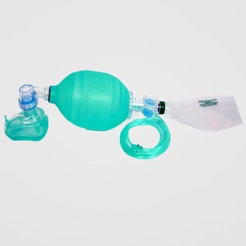 Adult Silicone Resuscitator (Green)