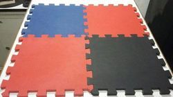 Color Rubber Floor Tile