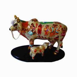 Nandani Kamdhenu Cow Statue