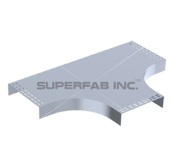 Cable Tray Cover Horizontal Tee