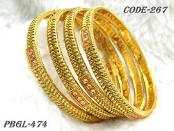Designer Antique Polki Bangles