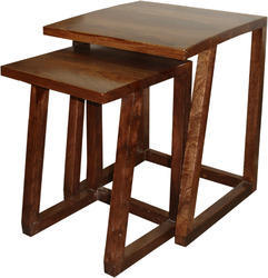 Wooden Nesting Table - Wooden Furniture
