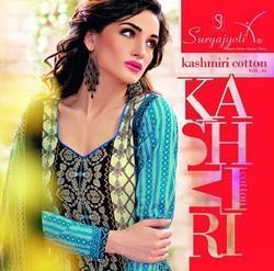 Kashmiri Cotton Gorgeous Looking Printed Designer Suit