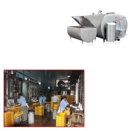 Bulk Milk Cooler for Dairy Plant