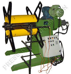 Motorized Decoiler with Hydraulic Expandable Jaws
