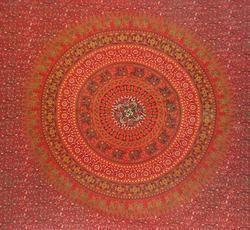 Hand Block Print Tapestry