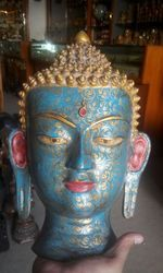 Resin Buddha Mask