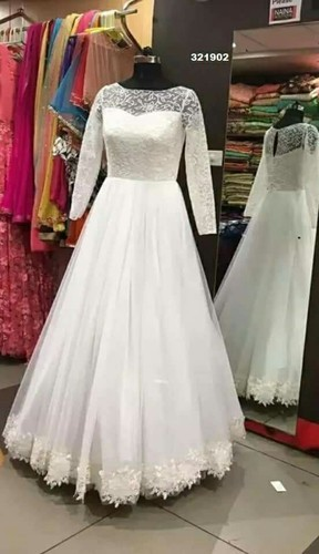 Wedding Gowns - Christian Bridal Gown Wholesale Trader from Chennai