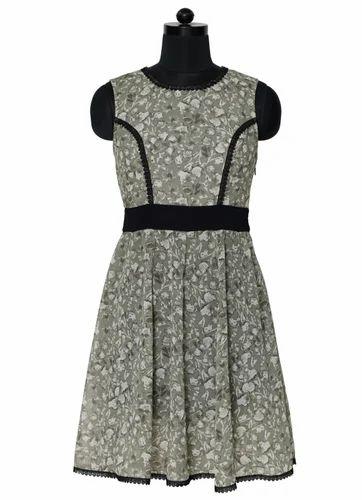 Florence Printed Short Dress