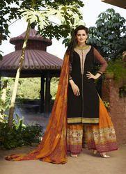 Ladies Designer Plazo Suits