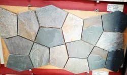 Black Slate Stone Mosaic Tile / Cladding Tiles