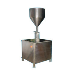 Cream and Bottle Filling Machine