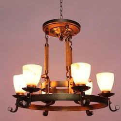 Micelle Vintage 6 Arm Chandelier