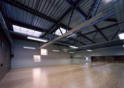 Sports Hall Using Steel Structures