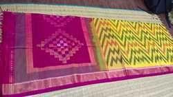 Ikkat Cotton Silk Sarees