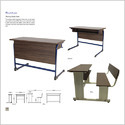 Sharing Study Desk Decent / Alloy